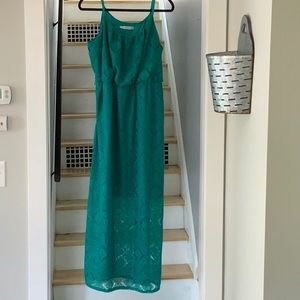 Maurice's size 2 green dress